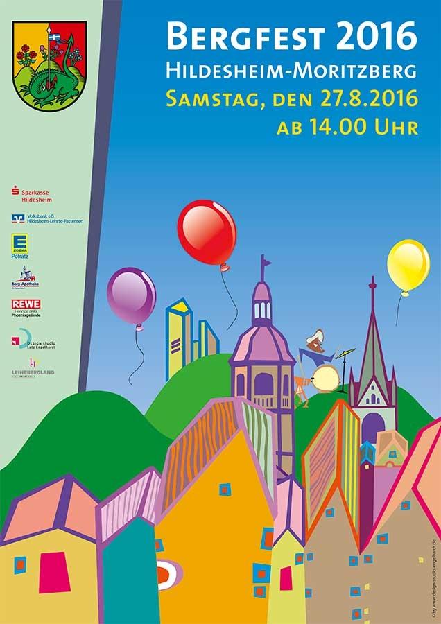 Plakat Moritzberger Bergfest